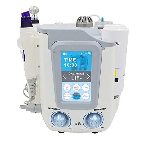 ACCDUER 3 en 1 Hidrógeno Oxígeno Agua Hydro oxígeno Facial Ultra-Micro Piel de la Cara de la Burbuja Máquina SPA Facial Hidratante Limpiadora Poros Dispositivo eliminador de Arrugas