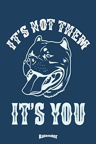 Mein Sarkastischer Pitbull Terrier Kalender: Cooler Kalender für Hundeliebhaber und sarkastische Besitzer von American Pitbull Terriern mit trockenem Humor die ihren Hund lieben