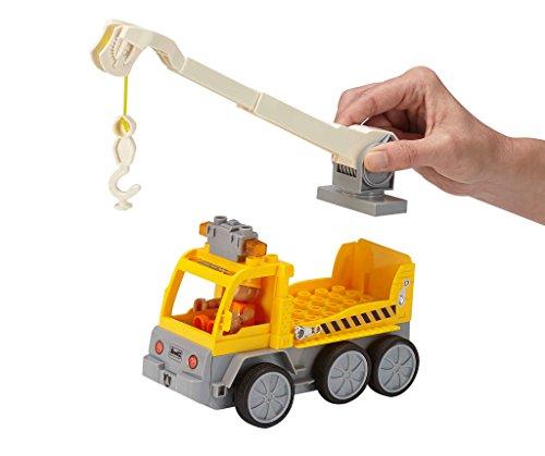 RC Auto kaufen Baufahrzeug Bild 5: Revell Control Junior RC Car Kranwagen - ferngesteuertes Baufahrzeug mit 27 MHz Fernsteuerung, kindgerechte Gestaltung, ab 3, zum Bauen und Spielen, mit Spielfigur, LED-Blinklichtern - 23002*