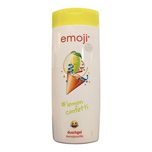 emoji duschgel lemon confetti Limette vegan 250ml