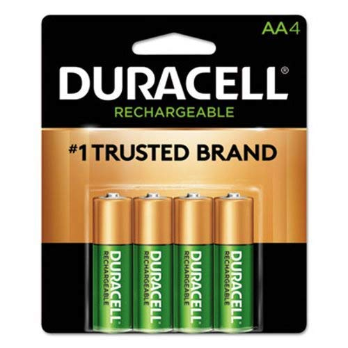 Precharged Recharg. Battery, AA, NiMh, PK4