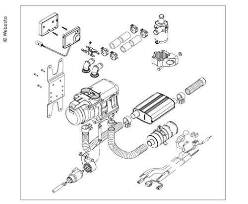 Unbekannt Webasto 1325954A Kit de climatización automática