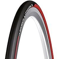Michelin Neumático De Bicicleta Unisex, Color Negro/Rojo, 0123L3R