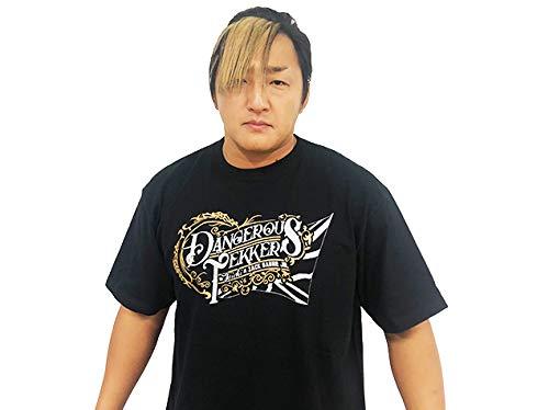 新日本プロレス NJPW タイチ&ザック・セイバーJr. DANGEROUS TEKKERS Tシャツ (L)