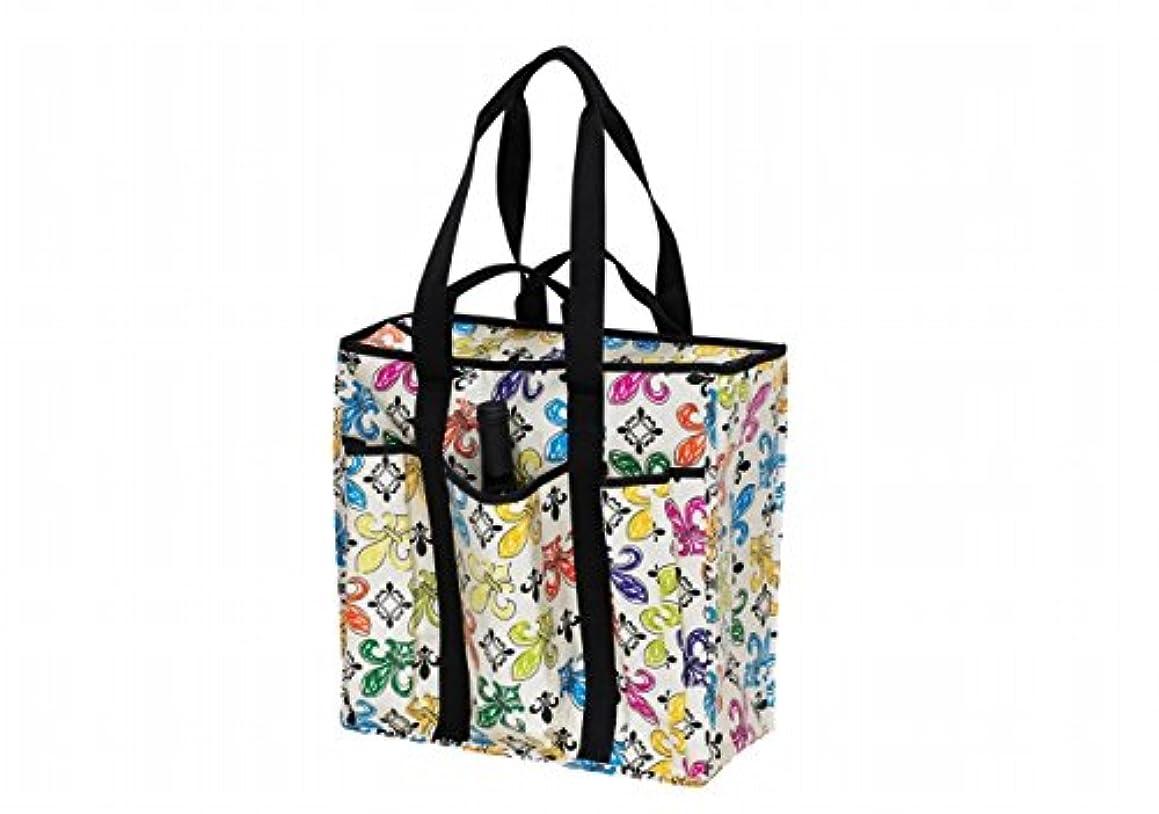 Joann Marie Designs P2ICFDL2 Poly Insulated Cooler - Crème Fleur De Lis Pack of 3