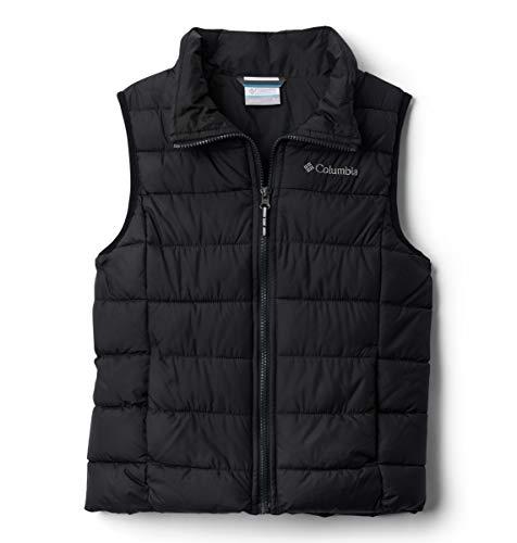Columbia Powder Lite Puffer Vest Chaleco, Unisex niños, Bla