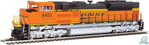 WalthersMainline EMD SD70ACe - DC - BNSF Railway #8453 (Orange, Black, Yellow: Wedge Logo)