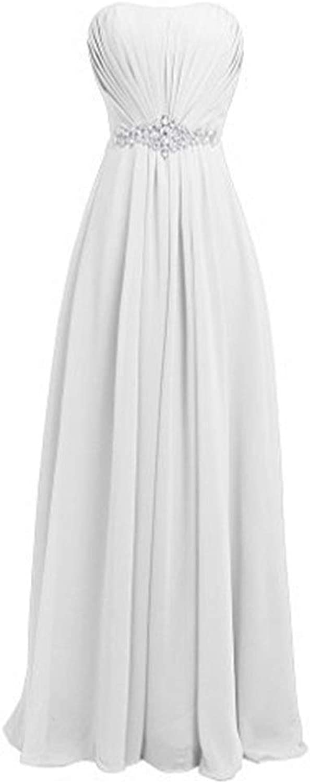 Sexy Slim Party Evening Dress Women Fashion Elegant Long Dress (color   White, Size   US20)