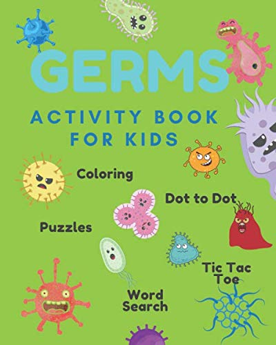 GERMS: Activity Book For Kids