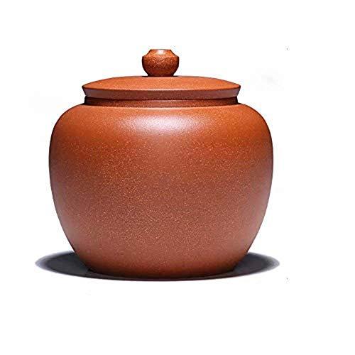 ZQY Memorial Urn, Crematie Urns High Grade Porselein Keramisch Gesealde Kan Opslag Tank Tea Box Theepot