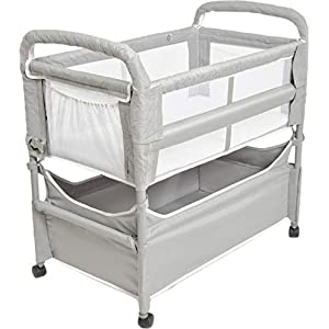 Arm's Reach Clear-Vue Co-Sleeper Bassinet, Grey