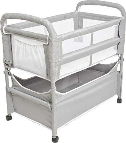 Arm's Reach Clear-Vue Co-Sleeper Bassinet for Bed Attachment with...