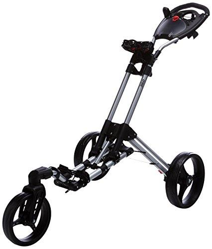 Legend Fastfold 360 – Golf-Trolley, Unisex,Schwarz/Silber