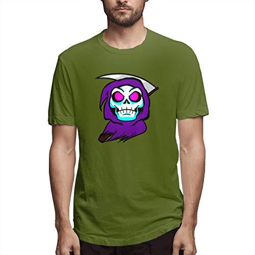 xinfub Camiseta Emote Twitch Emoji Discord Emoticon Pogger Camiseta Casual de algodón para Hombre