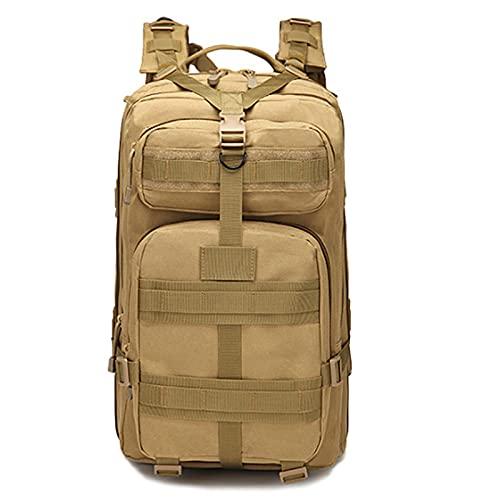 QIANJINGCQ deportes al aire libre montañismo viaje mochila Camping ejército camuflaje bolsa táctica 45L mochila grande 3P