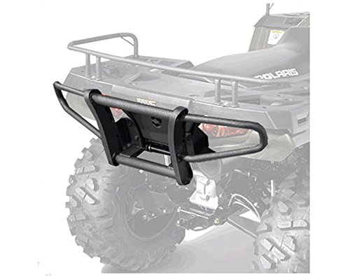 Polaris ATV Rear Deluxe Brushguard- Black