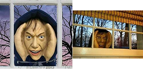 Lonestar Wholesalers Scary Peeper Creeper Peeping Tom Halloween Window Creepy Decoration Looks Real