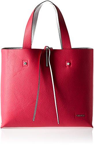 Calvin Klein STEF Reversible Tote, Bolsa para Mujer, Rosa (