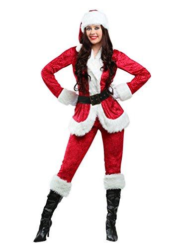 Women's Sweet Santa Costume Mrs. Claus Costume for Women - XL Red