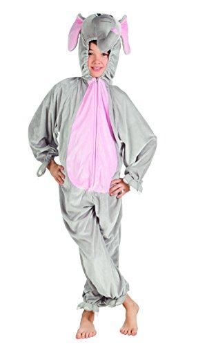 elefantino peluche Boland- Costume Tuta Peluche Elefantino per Bambini