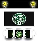 MERCHANDMANIA Tasse FOTOMINISCENTE Logo Anime CAFÉ Glow mug