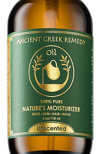 Unscented Organic Blend of Cold Pressed Jojoba, Almond, Olive, Grapeseed, vitamin E, Sunflower oil. Best Face Moisturizer for Dry Sensitive Skin. Body and Facial Oils for Men and Women 4oz