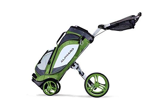 LT Alphard DUO-Carrello da Golf, colore: verde Lime