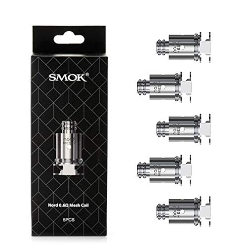 SMOK Spare Coil for Nord TPD Compliant 2ml Capacity - No Battery, No Nicotine (Coil 0.6 Mesh)
