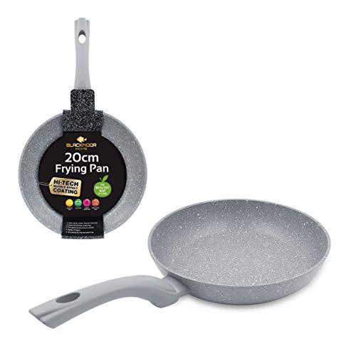 Blackmoor Non-Stick Anti-Scratch Frying Pan, Grey Gris Sartén antiadherente y resistente al rayado de 20cm, aluminio