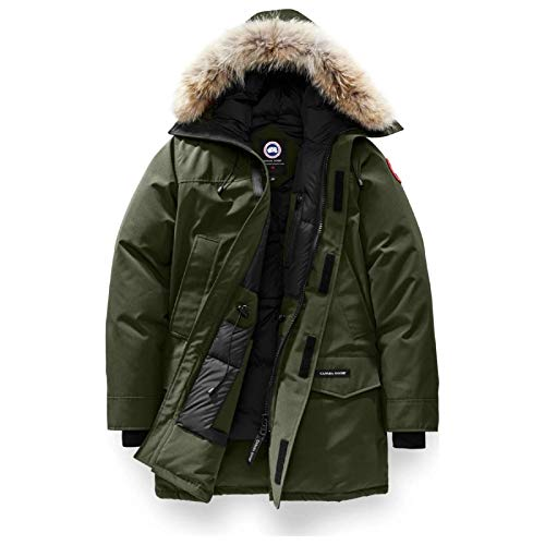Canada Goose Men's Expedition Parka,Military Green,X-Large