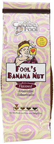 The Coffee Fool Drip Grind Coffee, Fool's Banana Nut, 12 Ounce