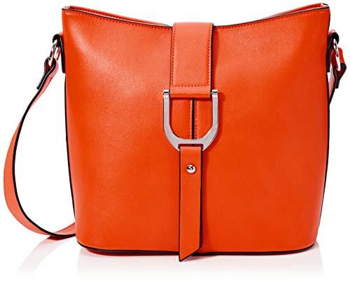 N.V. Bags Damen 302 CROSSBODY, Orange, MEDIUM