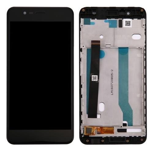 SCHERMO DISPLAY LCD TOUCH SCREEN E FRAME RICAMBIO ASUS ZENFONE 3 MAX ZC520TL NERO BOMAItalia