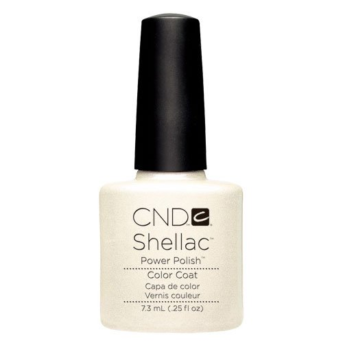 CND Shellac UV Color Coat Nail Gel Mother of Pearl, 1er Pack (1 x 15 ml)