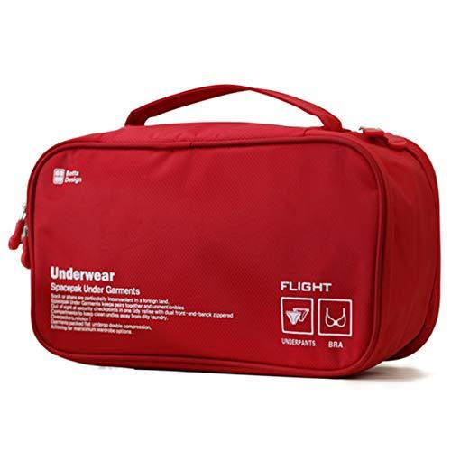 ランジェリーポーチ トラベルグッズ 下着収納 撥水加工 出張 海外旅行用品 レディース メンズ 洗面用具 収納ケース