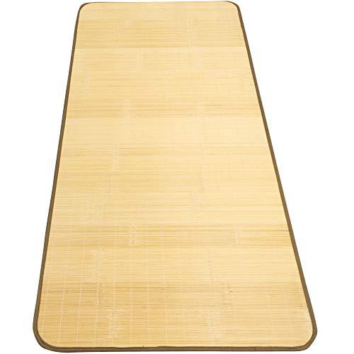 アーリエ(Arie) 竹シーツ 冷感 快適 天然竹使用 ごろ寝シート ひんやり冷感シーツ ナチュラル 約80cm×180cm