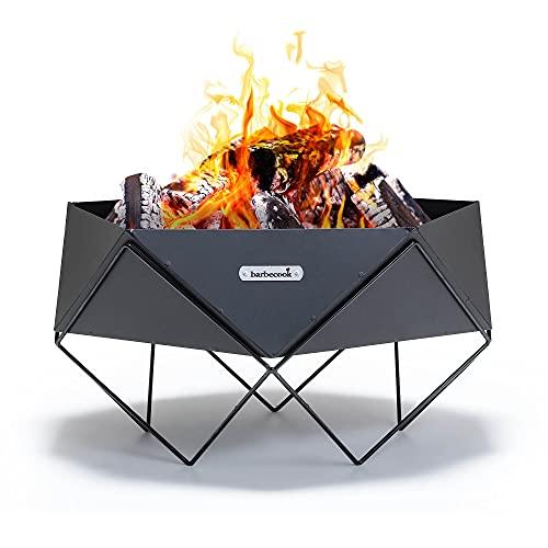 barbecook Ural feuerschale aus lackiertem Stahlblech 56x56x33cm