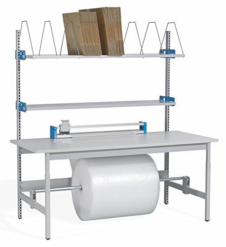 Packtisch Komplett-Packstation ERGO-Pack mit Schneidgerät (hoch) von ERGO-line (2000 x 900 x 2020)