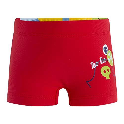 Tuc Tuc Baby-Jungen Boxer Pirata Niño Pirates Badehose, Rot (Rojo 3), 65 (Herstellergröße: 1A)