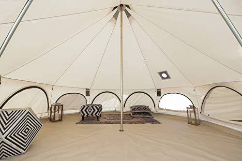 WHITEDUCK Avalon Canvas Bell Tent - Luxury All Season...