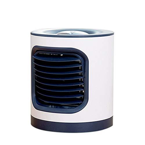 HAODEE Wentylatory bez ostrzy przenośny klimatyzator cichy nie przytrząsający bezostrzowy wentylator wieżowy ładowany USB wentylatory wieżowe chłodzenie do domu biura na zewnątrz podróż zielony