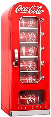 Koolatron Coca-Cola Retro Vending Machine Style 10 Can Mini Fridge, 12V...