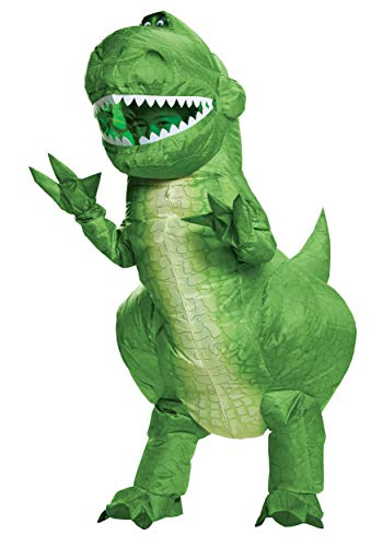 Disguise Toy Story Kids Rex Inflatable Costume Standard