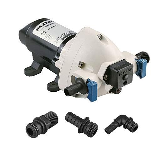 BTK Pompa Autoclave per Acqua Flojet Triplex da 24V 11 Litri al minuto Automatica Elettrica con...