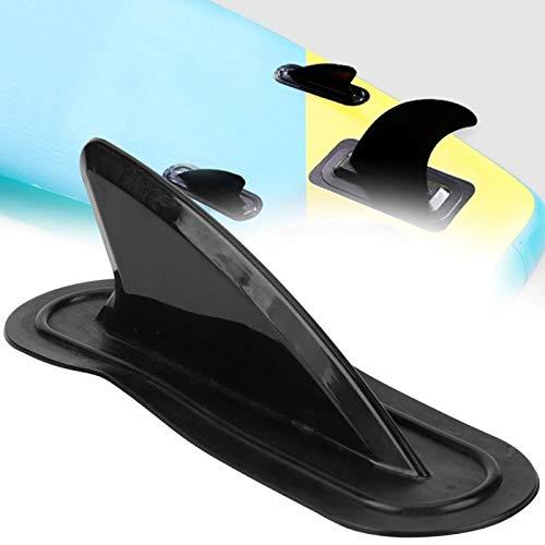 DAUERHAFT Ayuda a equilibrar Tablas de Surf y canoas Paleta de Cola de Tabla de Surf para Bote Inflable, etc.(Black)