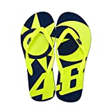 Valentino Rossi VR46 VR46 Valentino Rossi Sun And Moon Flip Flops Sandals 2019 39/40