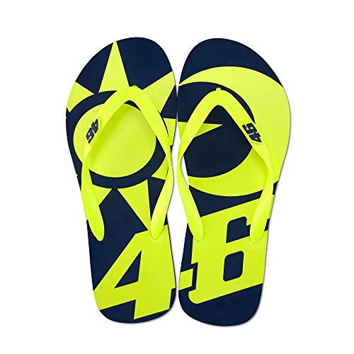 Valentino Rossi VR46 VR46 Valentino Rossi Sun and Moon Flip Flops Sandals 2019 39/40