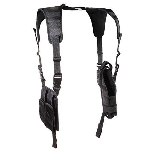 UTG LE Grade Vertical Shoulder Holster, Black
