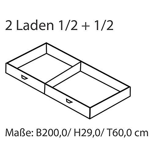 MeinMassivholz Kojenbett Karin | Aus massivem Kiefernholz | 90 x 200 cm