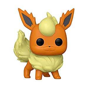 Funko Pop! Games: Pokemon - Flareon Vinyl Figure - 4112EeB9kBL - Funko Pop! Games: Pokemon – Flareon Vinyl Figure